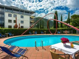 Albornoz Palace Hotel, Spoleto (Monteluco yakınında)