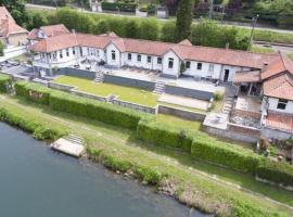Gîte La villa bord de Meuse
