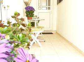 Eftihia's central, garden home