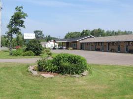 Balmoral Motel, Tatamagouche (Folly Lake yakınında)