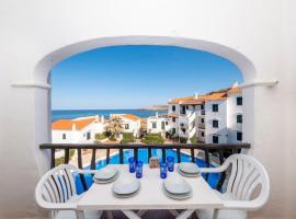 Apartamento Playas de Fornells con piscina comunitaria y ...