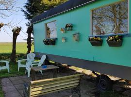 Gardenhouse on wheels