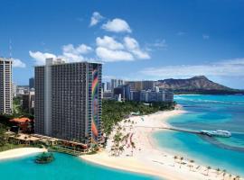 夏威夷威基基海灘希爾頓度假酒店
