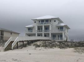 """NEW Gulf Front 12bd/12.5 bath home, """"The Grand PEARL"""" , Heated Pool w/ elevator."""