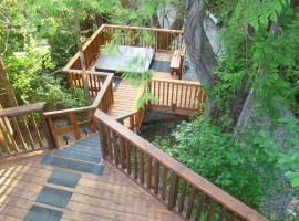 Tofino Forest View Cabin by Cox Bay