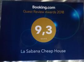 La Sabana Cheap House