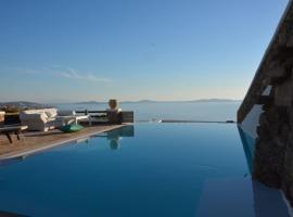 Amazing View- 4 bedroom villa in Choulakia, Mykonos