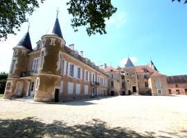 Château d'Island Vézelay, Pontaubert (рядом с городом Saint-Germain-des-Champs)
