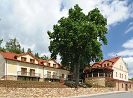 Hotel Gold Chotoviny, Chotoviny (Zhoř u Mladé Vožice yakınında)