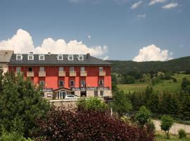 Hotel Corrieu, La Llagonne (рядом с городом Fontpédrouse)