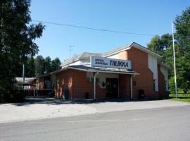 Hotelli Ravintola Tiilikka, Раутаваара (рядом с городом Кеттуланмяки)