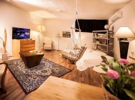 Cozy village studio