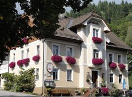 Gasthof - Pension Linder, Afritz (Unterwöllan yakınında)