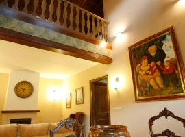 Casa Felisa Pirineo Aragonés, Santa Eulalia de Gállego (Concilio yakınında)