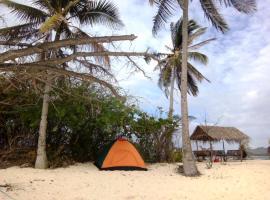 Tour Linapacan Island Camping