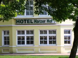 Hotel Harzer Hof, Osterode (Katzenstein yakınında)