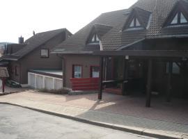 Ferienwohnung Fernblick, Sankt Andreasberg (Sieber yakınında)
