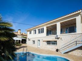 Villa for 14 persons con vista al mar y Peñón de Ifach en Calpe!