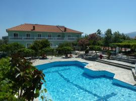 Evelin hotel, Пифагореон (рядом с городом Chóra)