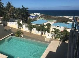 Oasis Retreat's Ocean-View Suite, Pool, and Hot Tub