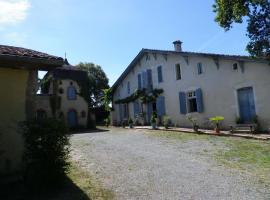 Chambres et Table d'Hôtes Capcazal de Pachïou, Mimbaste (рядом с городом Sort-en-Chalosse)