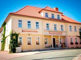 Pension Friedrichshof, Bad Klosterlausnitz (Hermsdorf yakınında)