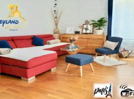 APPARTEMENT COSY 6 PERSONNES ENTRE PARIS ET DISNEYLAND