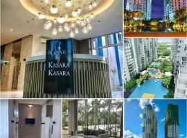 1BR Coastal Condo Unit at Kasara Urban Resort Residences