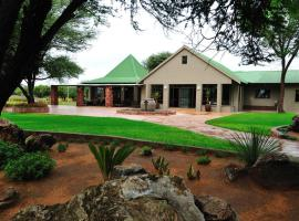 Otjiwa Safari Lodge, Otjiwarongo (рядом с регионом Omatako)