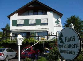 Haus Drei Tannen, Siekholz (Eschenbruch yakınında)