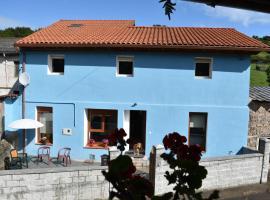 La Casa Azul de Asturias.¡playas, campo y ciudad!