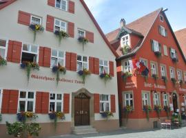 Hotel-Restaurant Goldenes Lamm