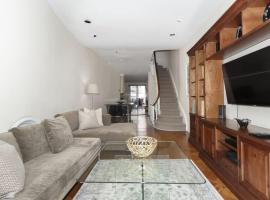 Amazing Townhouse Experience With Private Garden