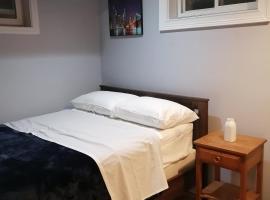 Cozy basement bedroom
