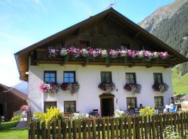 Haus Bödele, Sankt Leonhard im Pitztal (Piösmes yakınında)