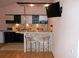 Studio apartmenments in center