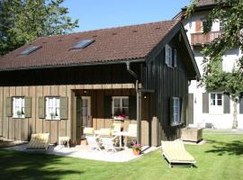 Ferienhaus Alp Chalet, Kochel (Jachenau yakınında)