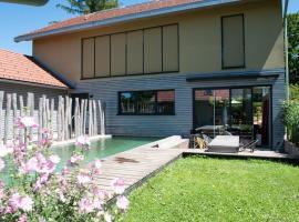 Villa with pool at the Lake Starnberg close to Munich