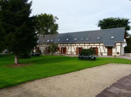 Chambres d'hôte du Domaine de la Reine Blanche, Criquetot-sur-Longueville (рядом с городом Omonville)