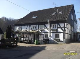 Gasthof Zum Stausee, Engelskirchen (Weiershagen yakınında)