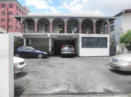 Par May La's, Port-of-Spain (in de buurt van Saint Ann's)