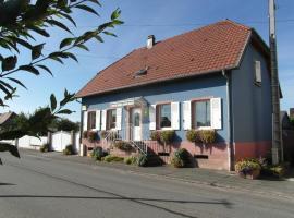 Gîte Halmer, Bergholtz (рядом с городом Merxheim)
