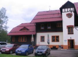 Penzion Pstruh, Stožec (Haidmühle yakınında)
