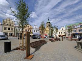 Hotel U Zlatého Lva, Havlickuv Brod (Šmolovy yakınında)