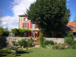 Chambres d'hôtes Les 7 Semaines, Chantemerle-les-Blés (рядом с городом Chanos-Curson)