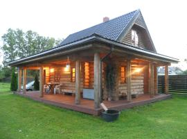 Forest Edge Lodge and House, Riga