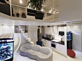 Stylish,luxury duplex Paris city center