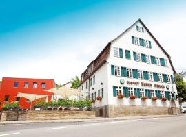 Hotel Restaurant Lamm Hebsack, Winterbach (Buoch yakınında)
