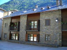Apartaments Vall Ferrera, Areu (рядом с городом Tor)