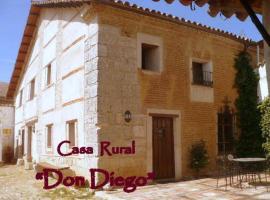Casa Rural Don Diego, Casasola de Arión (Morales de Toro yakınında)